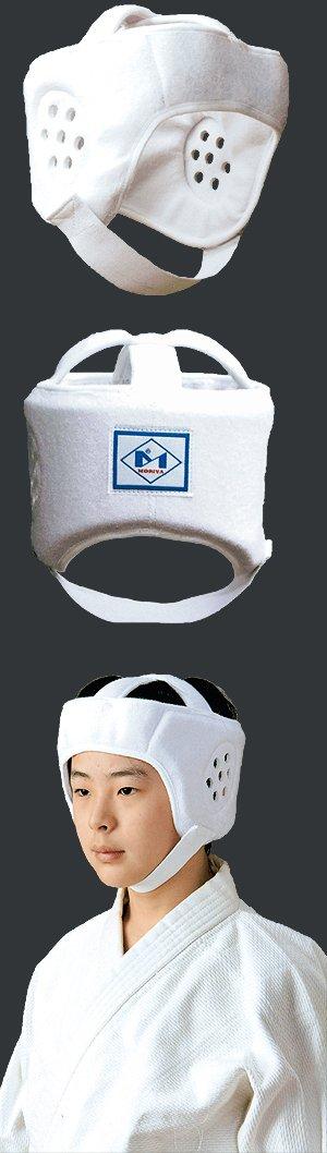 画像1: 柔道ヘッドガード(柔道用ヘッドギア)