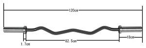 画像3: 50mmオリンピックEZバー(スリーブ回転式)
